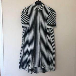 ZARA POPLIN DRESS